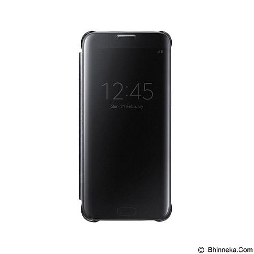 Mirror Wallet View Flip Cover Samsung Galaxy S6 - Black (Merchant) - Casing Handphone / Case