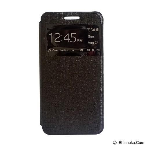 Myuser Flip Cover Samsung Galaxy J1 Ace - Black (Merchant) - Casing Handphone / Case