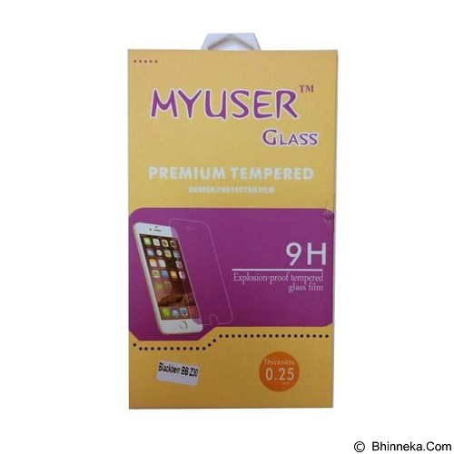 Myuser Tempered Glass Oppo Muse - Clear (Merchant) - Screen Protector Handphone