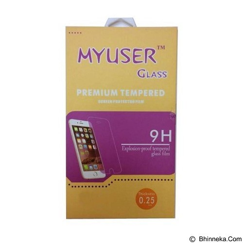 Myuser Tempered Glass for Apple iPhone 4 (Merchant) - Screen Protector Handphone