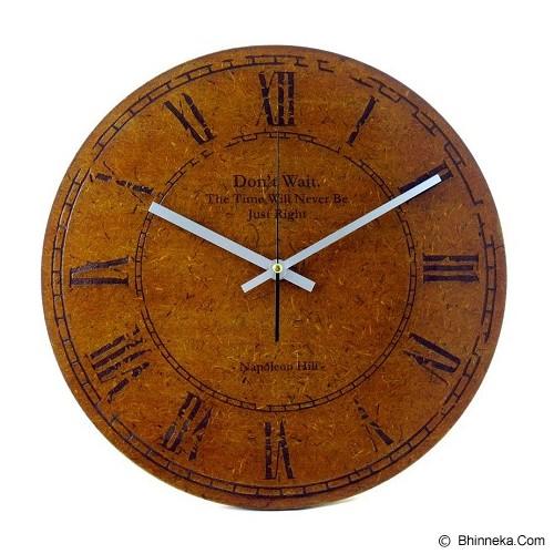 NAIL YOUR ART Jam Dinding Artistik Premium Classical Napoleon Hill [NYA150104] (Merchant) - Jam Dinding