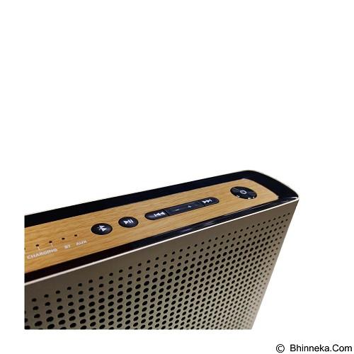 NAKAMICHI My Music Space Bluetooth Speaker - Gold - Speaker Bluetooth & Wireless