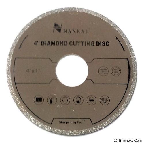 NANKAI Cutting Disc Slide Chrome 4 inch - Mata Gerinda