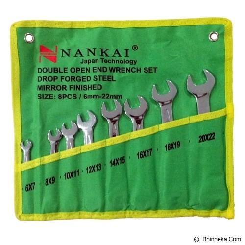 NANKAI Kunci Pas Set 8 Pcs 6-22mm - Kunci Pas