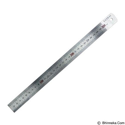 NANKAI Penggaris Stainless 30cm (Merchant) - Penggaris Besi