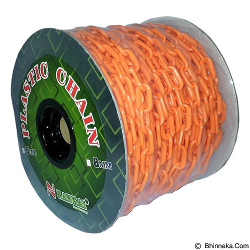 NANKAI Rantai Meteran Plastik PVC 8mm x 30m - Orange - Tool Set