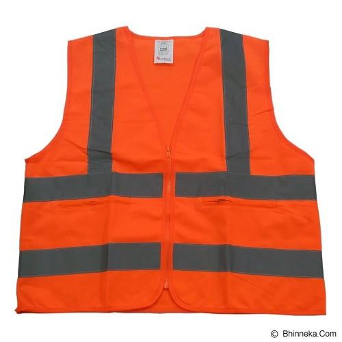 NANKAI Rompi Polyster Dengan Kantong - Orange - Pakaian Pengaman