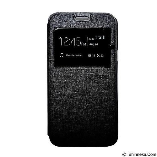 NANO Flip Cover Xiaomi Redmi Mi4i [NanoFC361] - Black (Merchant) - Casing Handphone / Case