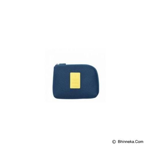 NANOPANDA SHOP Shockproof Mesh Organizer Pouch Small - Dark Blue (Merchant) - Sarung Handphone / Pouch