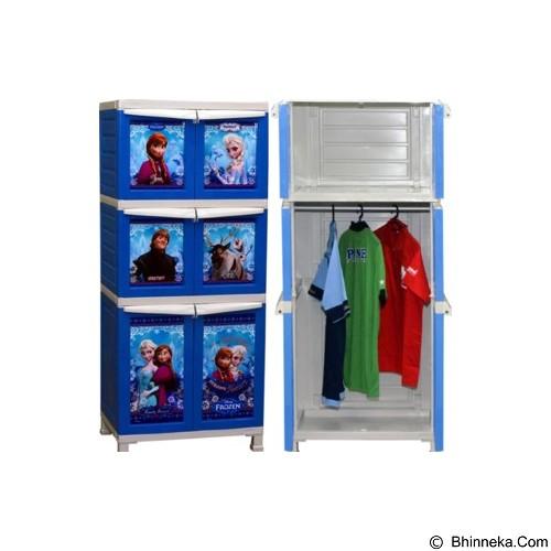 NAPOLLY Lemari Plastik Frozen [BC 162] (Merchant) - Lemari Pakaian