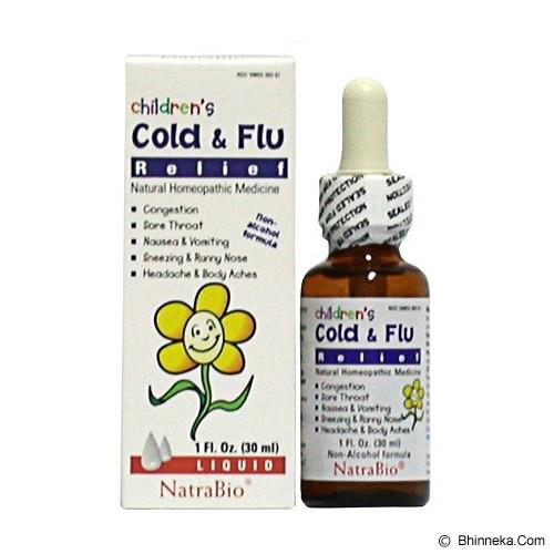 harga NATRA BIO Children Cold & Flu 1 Oz Bhinneka.Com