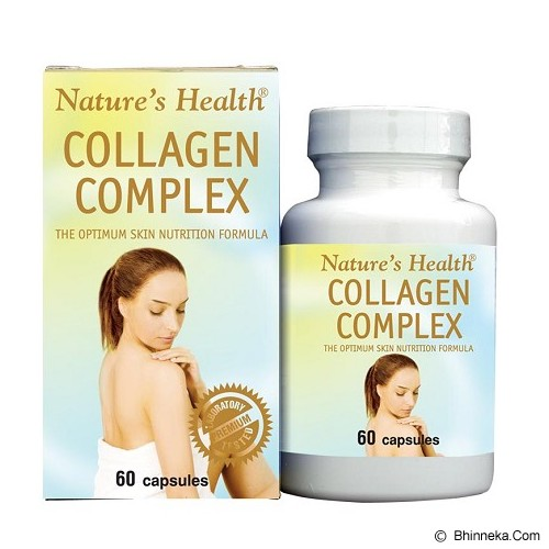 NATURE'S HEALTH Collagen Complex 60 Caps - Suplement Kesehatan Kulit