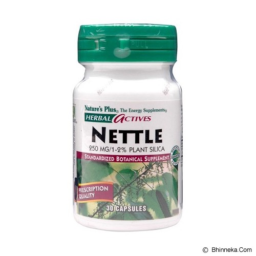 NATURE'S PLUS Nettle 250 MG 30 Capsules - Suplement Penambah Daya Tahan Tubuh