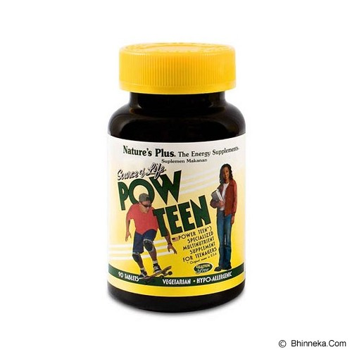 NATURE'S PLUS Pow Teen 90 Tablets - Suplement Penambah Daya Tahan Tubuh