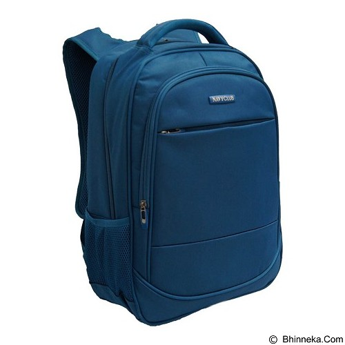 NAVY CLUB Waterproof Backpack [8300] - Blue - Notebook Backpack