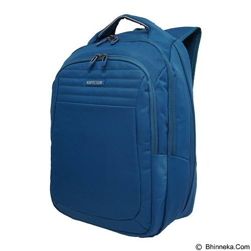 NAVY CLUB Expandable Backpack [8280] - Blue - Notebook Backpack