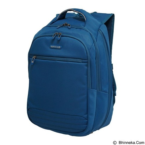 NAVY CLUB Expandable Backpack [8281] - Blue - Notebook Backpack