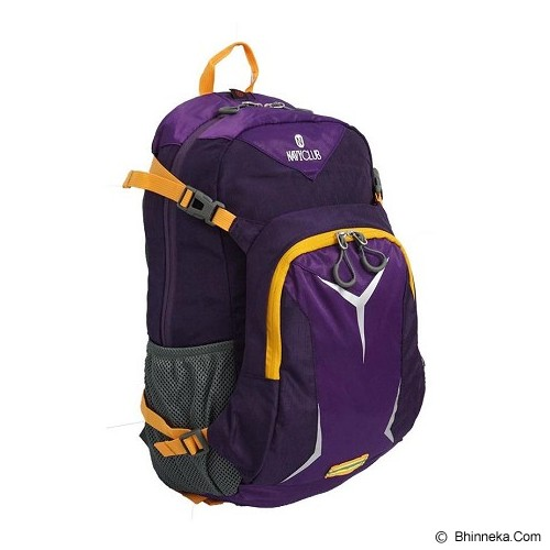 NAVY CLUB Hiking Backpack [9051] - Purple - Notebook Backpack