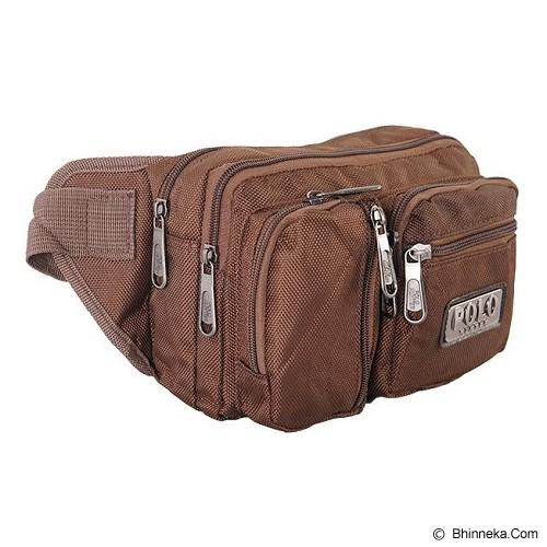 NAVY CLUB Polo Hunter Tas Pinggang [7469] - Coffee - Tas Pinggang/Travel Waist Bag