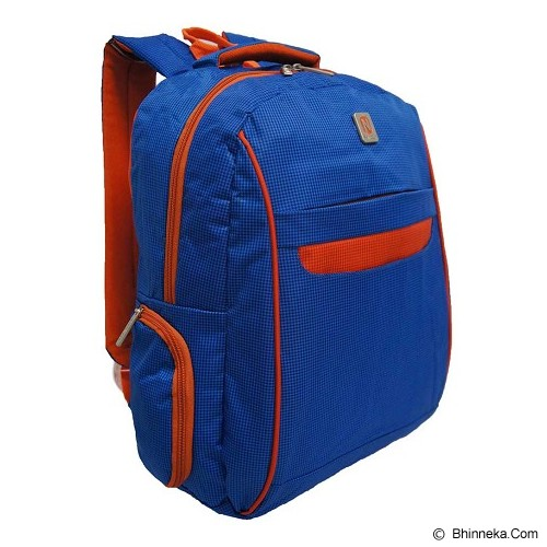 NAVY CLUB Ransel Laptop [3262] - Blue - Notebook Backpack