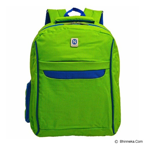 NAVY CLUB Ransel Laptop [3262] - Green - Notebook Backpack