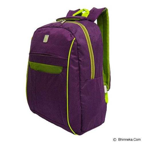 NAVY CLUB Ransel Laptop [3262] - Purple - Notebook Backpack