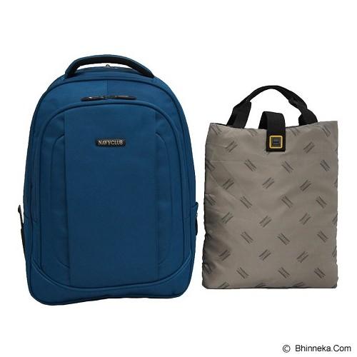 NAVY CLUB Ransel Laptop [5817] - Blue - Notebook Backpack
