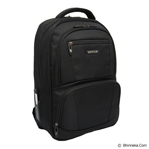 NAVY CLUB Ransel Laptop [5819] - Black - Notebook Backpack