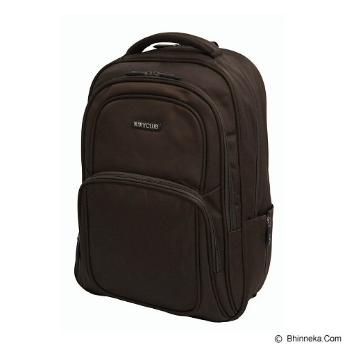 NAVY CLUB Ransel Laptop [5822] - Brown - Notebook Backpack