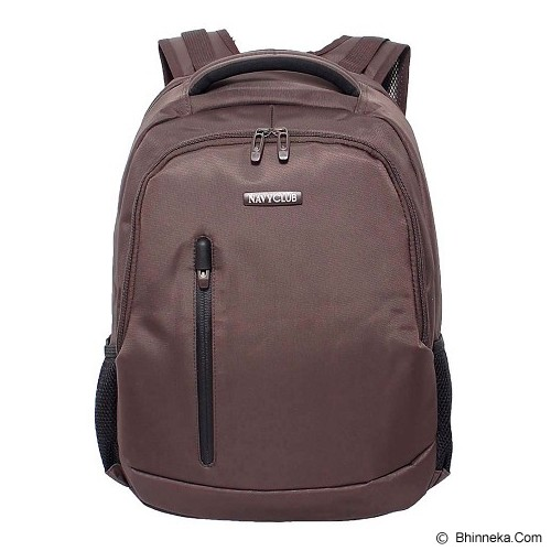 NAVY CLUB Ransel Laptop [5828] - Coffee - Notebook Backpack