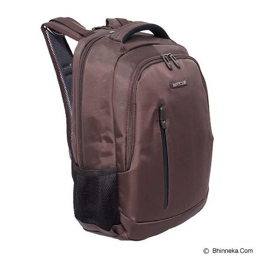 NAVY CLUB Ransel Laptop [5828] - Coffee - Notebook Backpack