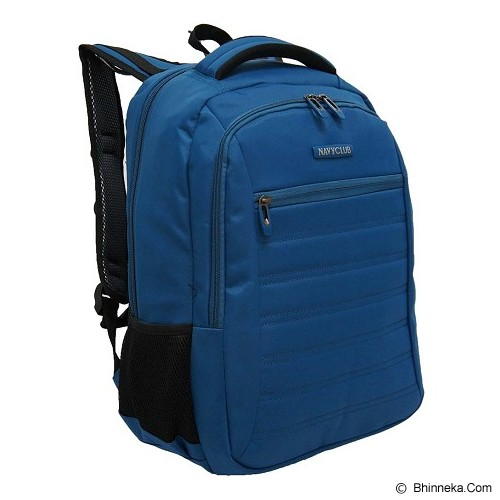 NAVY CLUB Ransel Laptop [5829] - Blue - Notebook Backpack