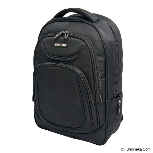 NAVY CLUB Ransel Laptop [5851] - Black - Notebook Backpack