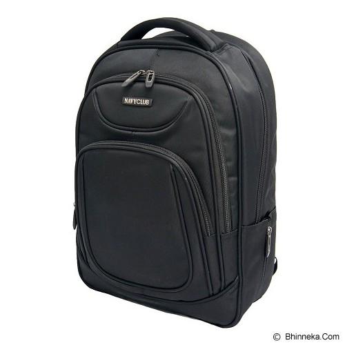 NAVY CLUB Ransel Laptop [5851] - Black - Notebook Backpack