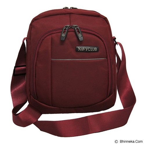 NAVY CLUB Shoulder Bag [8150] - Red - Notebook Shoulder / Sling Bag