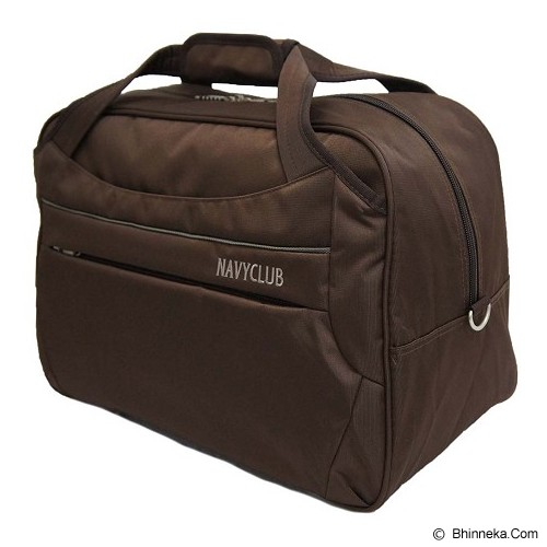 NAVY CLUB Travel Bag [2029] - Coffe - Travel Bag