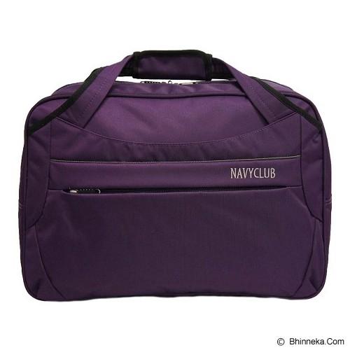NAVY CLUB Travel Bag [2029] - Purple - Travel Bag