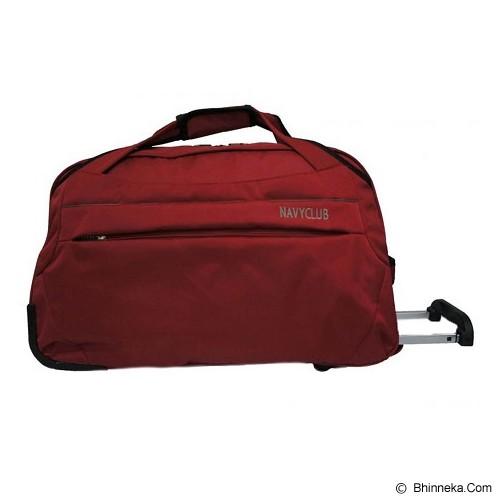 NAVY CLUB Travel Bag Trolley [2026] - Red (Merchant) - Travel Bag1
