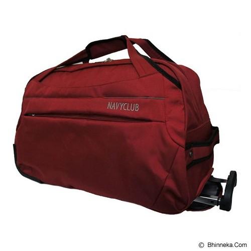 NAVY CLUB Travel Bag Trolley [2026] - Red (Merchant) - Travel Bag