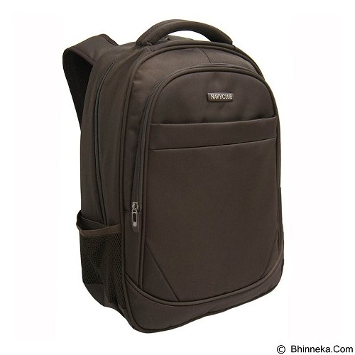 NAVY CLUB Waterproof Backpack [8299] - Coffee - Notebook Backpack