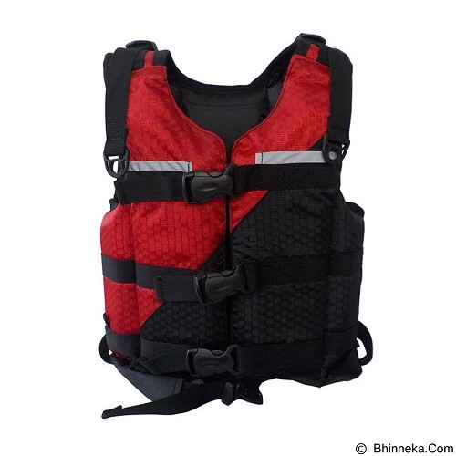 NEARMOUNT GEAR Life Jacket Pelampung Kids - Red (Merchant) - Aksesoris Renang