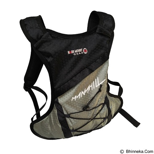 NEARMOUNT GEAR Tas Minipack Manahill - Black (Merchant) - Tas Carrier/Rucksack
