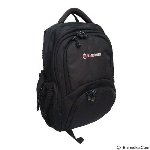 NEARMOUNT GEAR Tas Ransel Laptop - Black (Merchant) - Notebook Backpack