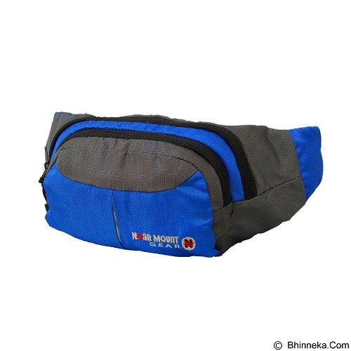 NEARMOUNT GEAR Waistbag - Blue (Merchant) - Tas Pinggang/Travel Waist Bag