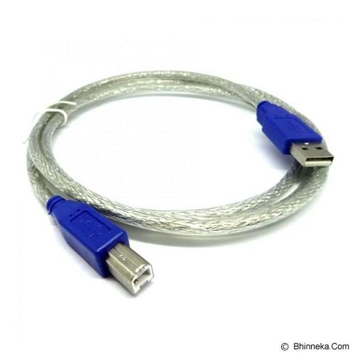NETLINE Kabel USB Printer 1.5M - Silver Transparant - Cable / Connector Usb