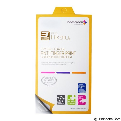 NEW HIKARU Anti Finger Print for Acer Liquid Z220 [HAFP-143] - Clear (Merchant) - Screen Protector Handphone