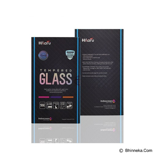 NEW HIKARU Tempered Glass Samsung Galaxy C7 - Clear (Merchant) - Screen Protector Handphone