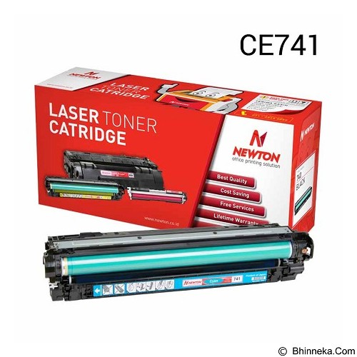 NEWTON Yellow Toner CE741A (Merchant) - Toner Printer Refill