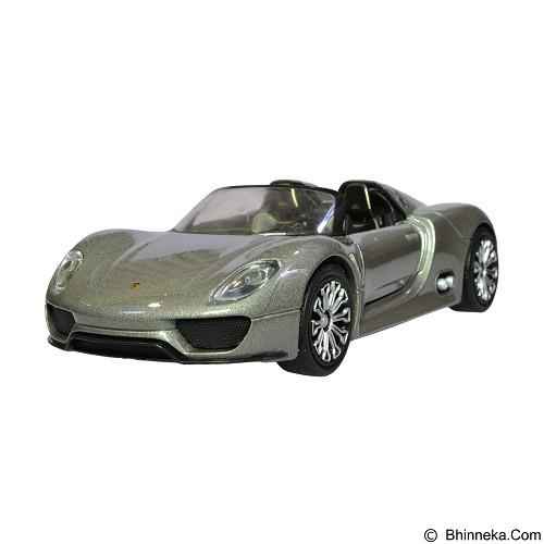 NEX Porsche 918 Spyder Diecast Mobil - Grey (Merchant) - Die Cast