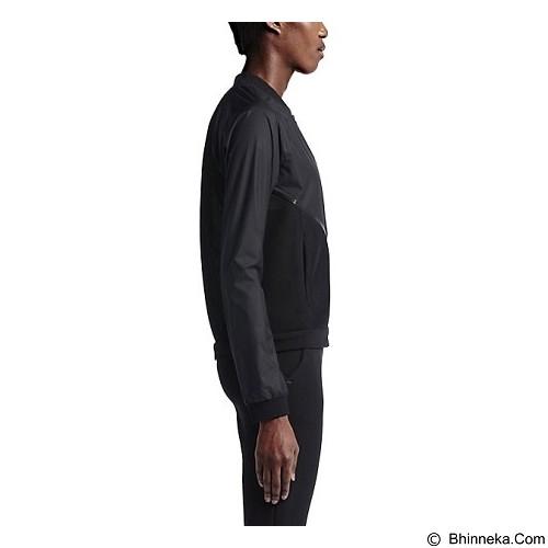 NIKE Tech Hypermesh Bomber Size L - Black (Merchant) - Jaket Casual Wanita